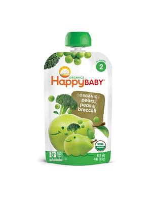 Happy Baby Organic Stage 2 Baby Food