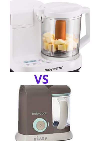 Baby brezza vs Beaba babycook