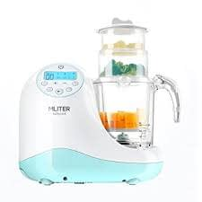 MLITER All-in-One Baby Food Maker and Steamer