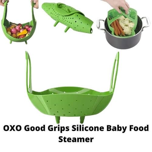 OXO Good Grips Silicone Baby Food Steamer